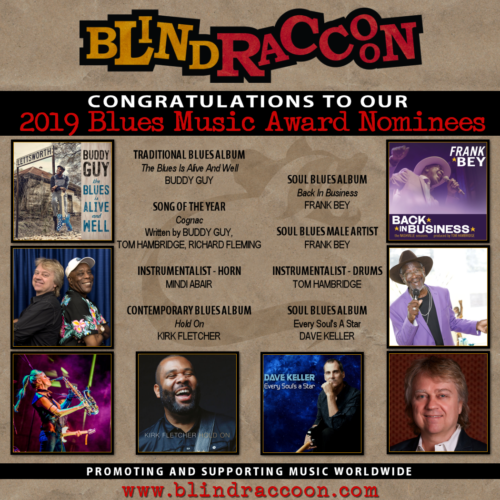 Presenting Our 2019 Blues Music Award Nominees