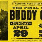 Buddy Guy Headlines Final Show @ B.B. King's NYC