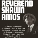 The Reverend Shawn Amos On Walkabout In Spain This March