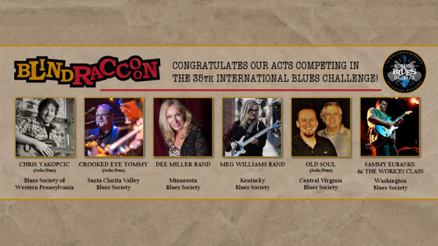 Blind Raccoon Artists Participate In 2019 International Blues Challenge
