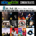 Eleven Blind Raccoon Artists On RMR Blues Album Chart 04/14/2018