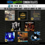 Roots Music Report ~ Blues Album ~ August 18, 2018